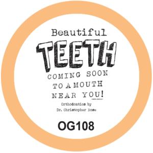 Beautiful Teeth Orthodontist T-Shirt Design