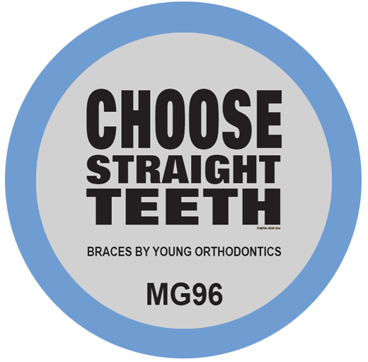 Choose Straight Teeth Orthodontist T-Shirt Design
