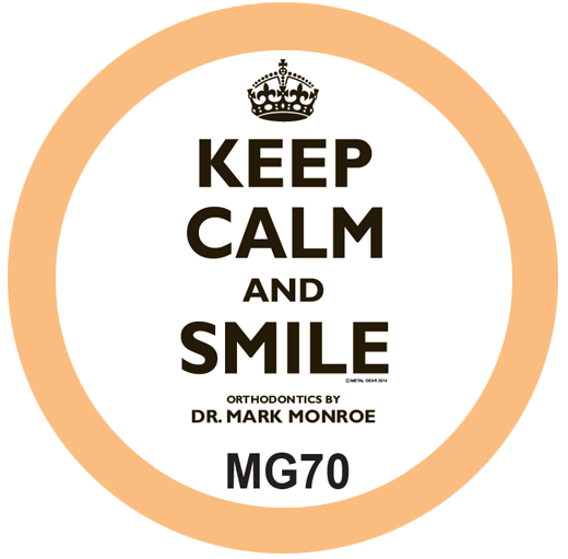 Keep Calm Orthodontist T-Shirt Design