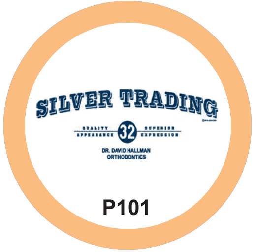 Silver Trading Orthodontist T-Shirt Design